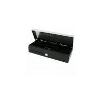 Cash Drawer Flip-Top 6 Note 8 Coin 24V Black